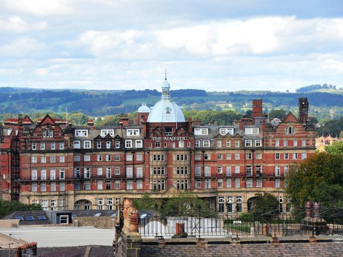 Couple in murder-suicide in guest room at historic Majestic Hotel in Harrogate, says North Yorkshire Police