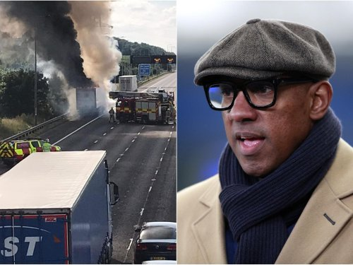"""""""Avoid the M62 at all costs"""": Homes under the Hammer's Dion Dublin trapped on M62"""
