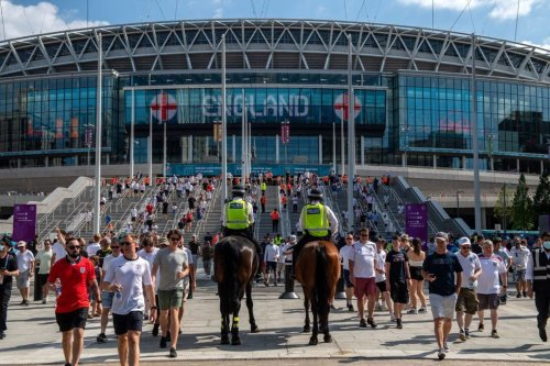 England fan in 'serious condition' after falling from stands at Wembley during Croatia game