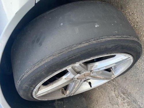 West Yorkshire Police catch motorist driving with 'F1 tyres' during Leeds patrols