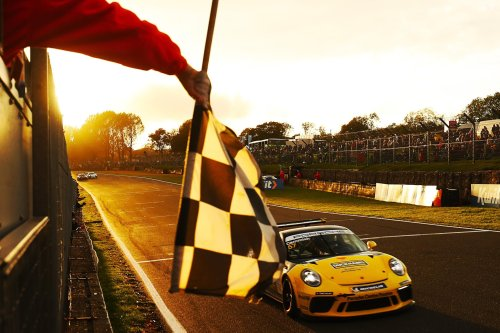 Dan Cammish justifies move back to Porsche Carrera Cup by edging out Lorcan Hanafin to win title at Brands Hatch