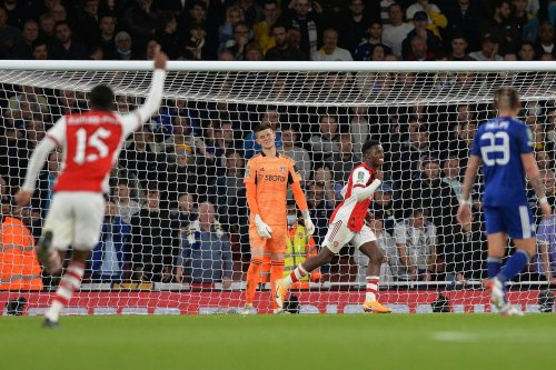 Arsenal 2 Leeds United 0 - Eddie Nketiah back to haunt Whites as first-half display counts for nothing at Emirates