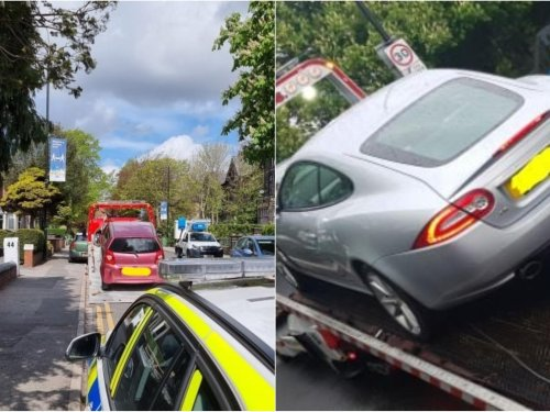 Police seize cars and issue tickets to drivers in Headingley during operation
