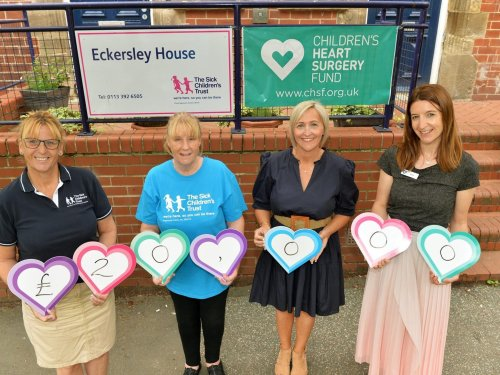Leeds charity helps fund 'home from home' hospital accommodation for families of poorly children