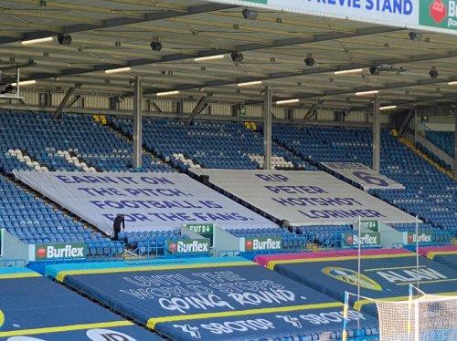 'Earn it' - Leeds unveil Elland Road banner opposing European Super League
