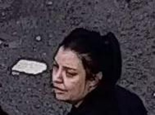 Woman suspected of helping man escape police car after fight in Leeds: Do you recognise her from this image?