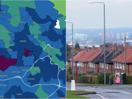Here are the Leeds areas with the highest Covid rates after six weeks of lockdown