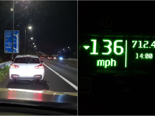 Driver caught doing 136mph on M62 blames speed on 'super fuel' in tank