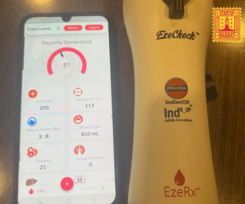 [Startup Bharat] Scared of needles during blood tests? Bhubaneswar startup EzeRx presents the world's first non-invasive treatments