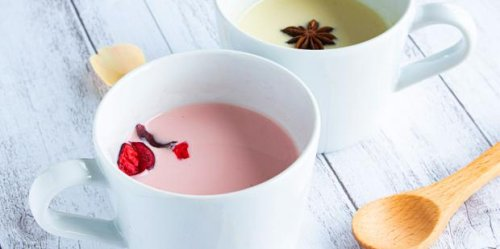 This Pink Moon Milk Recipe Will Put You To Sleep Faster Than Counting Sheep