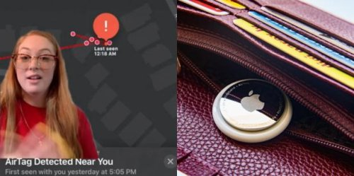 Woman Realizes AirTag Has Been Tracking Her For Hours — But Police Say They Can't Do Anything Until Stalker Shows Up