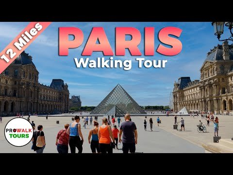 A 12-Mile Video Walking Tour of Paris