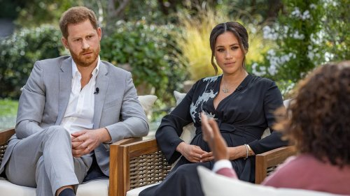 What time does Meghan and Harry's Oprah interview air in the UK tonight and what will they talk about?