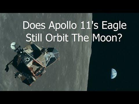 Apollo 11's Lunar Module Might Still Be Orbiting the Moon