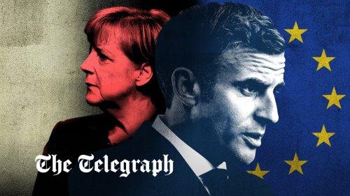 Watch: Macron, the EU's prince, is seeking Merkel's crown