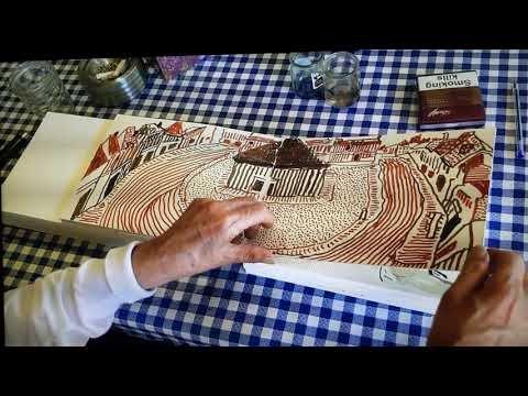 Watch as David Hockney Pages Through His Sketchbook