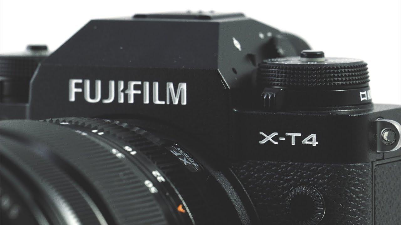 Fujifilm X-T4 - cover