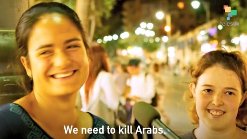 Everyday Israelis Express Support for Genocide to Abby Martin