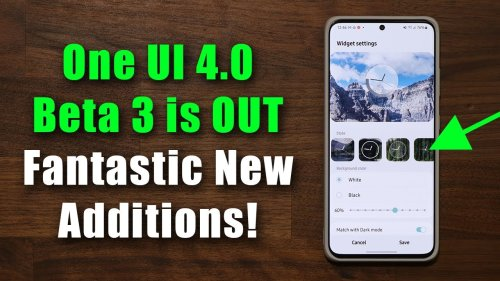 Samsung One UI 4.0 Beta 3 is OUT - What's New? (Android 12)