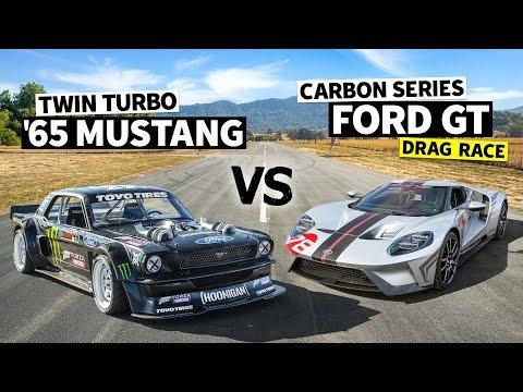 Ken Block's Hoonicorn vs. New Ford GT: It's Not Even Close