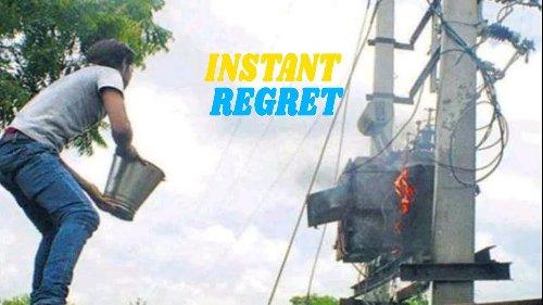 Instant Regret Compilation #34