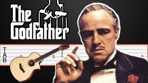 The Godfather - Guitar Tabs, Guitar Tutorial (Easy Tab, Fingerstyle Tab)