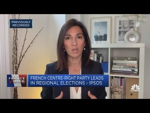 Marine Le Pen's far-right party fares worse than expected at French regional election