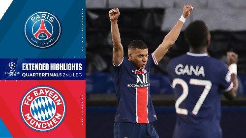 Paris Saint-Germain vs.Bayern Munich: Extended Highlights | UCL on CBS Sports
