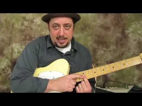 How to play ZZ Top Texas Blues Licks....Gritty Back Alley Dive bar sound