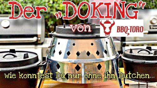 Der DOKING von BBQ TORO / Das ultimative Dutch Oven Zubehör für Kohle Liebhaber