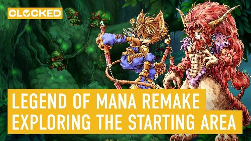 Legend of Mana Remastered: Here's What the Starting Area Looks Like