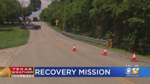 Garland Crews Find Body During Search After Car Swept Into Creek