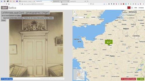 Gallicarte, explorez sur une carte les collections de Gallica