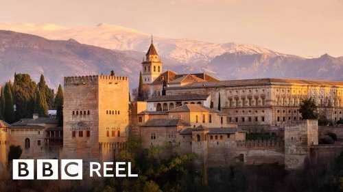 The hidden world beneath the ancient Alhambra fortress - BBC REEL