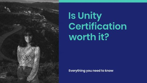 Is Unity Certification Worth it?