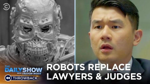 How Robots & Artificial Intelligence Are Changing The Legal Industry | The Daily Show