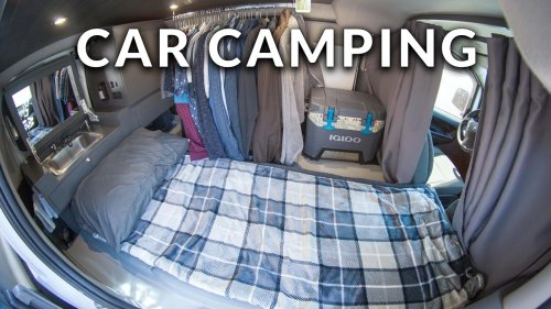Ultimate Stealth Camper Van Tour | Nissan NV200 Self-Converted Build Walkthrough