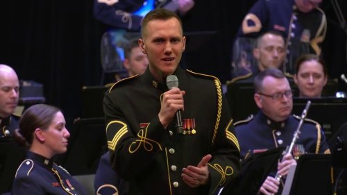"""""""You Will Be Found"""" performed by SSG Bryan Stenson and the U.S. Army Voices."""