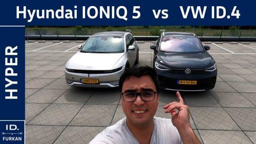 Hyundai Ioniq 5 vs Volkswagen ID.4 | Hyper Review