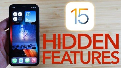 IOS 15 Hidden Features - Top 15 List