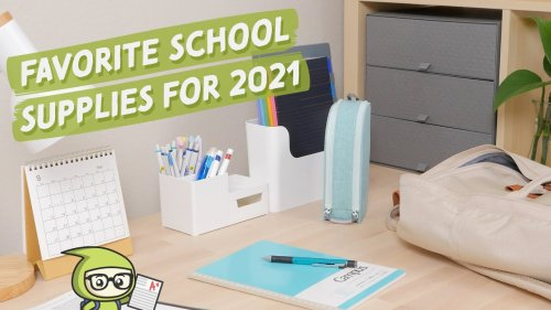 Our Favorite School Supplies for 2021 📝