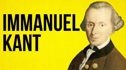 PHILOSOPHY: Immanuel Kant