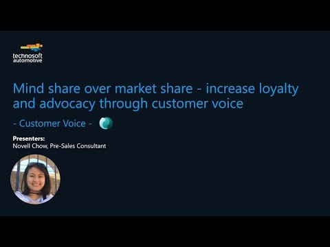 Mind Share over Market Share – Increase Loyalty and Advocacy Through Customer Voice