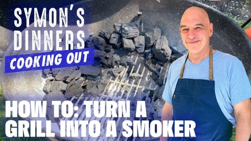 How to Turn Your Grill Into a Smoker with Michael Symon | Symon's Dinners Cooking Out | Food Network