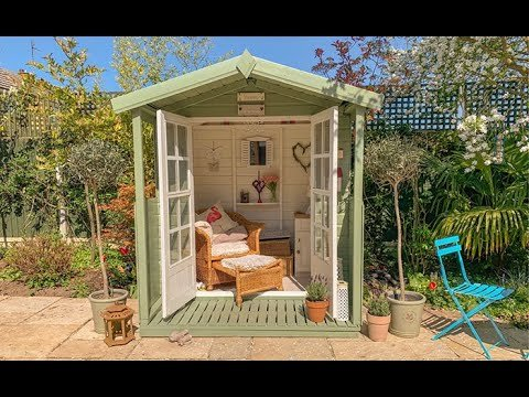 She-Shed Garden Project