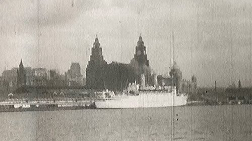 8mm footage of Liverpool docks in the 1950s