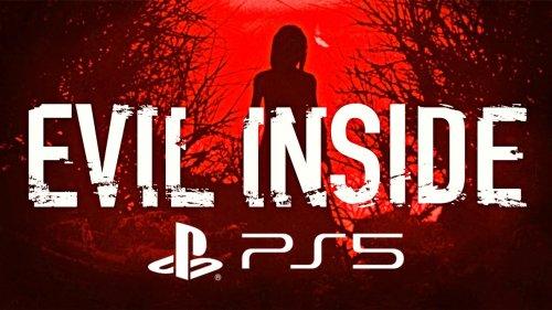 Evil Inside PS5 - Full Blind Gameplay Walkthrough (Psychological Horror Game)