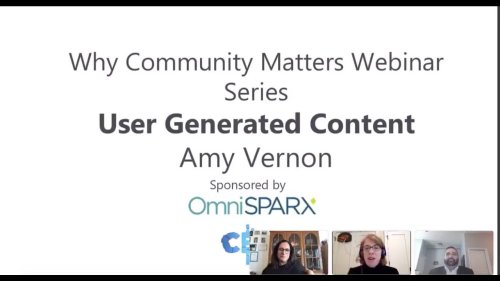 User Generated Content with Amy Vernon