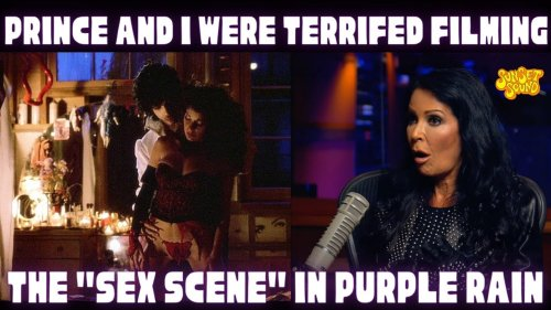 """Prince & I Were Terrified Filming """"The Love Scene"""" in Purple Rain! Apollonia/Sunset Sound Roundtable"""