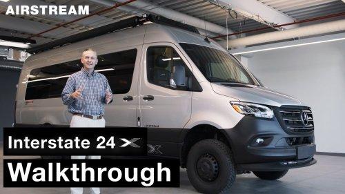 Airstream Interstate 24X Walkthrough Tour with Justin Humphreys